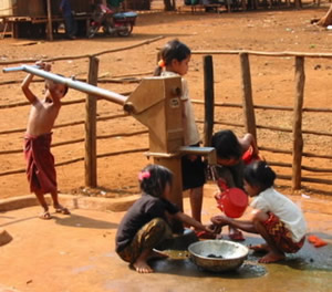 ICC well in Ratanakiri