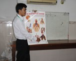 Health Training at Parce Project